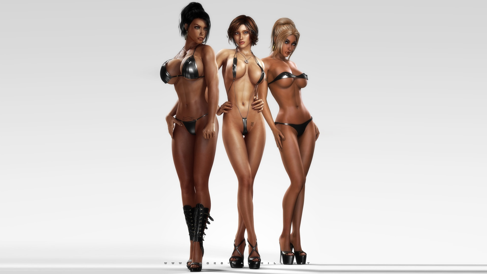3d top naked sexy girls of the  adult doll